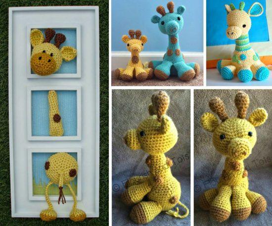 Crochet Giraffe The Cutest Ideas Ever Pinterest Giraffe Free