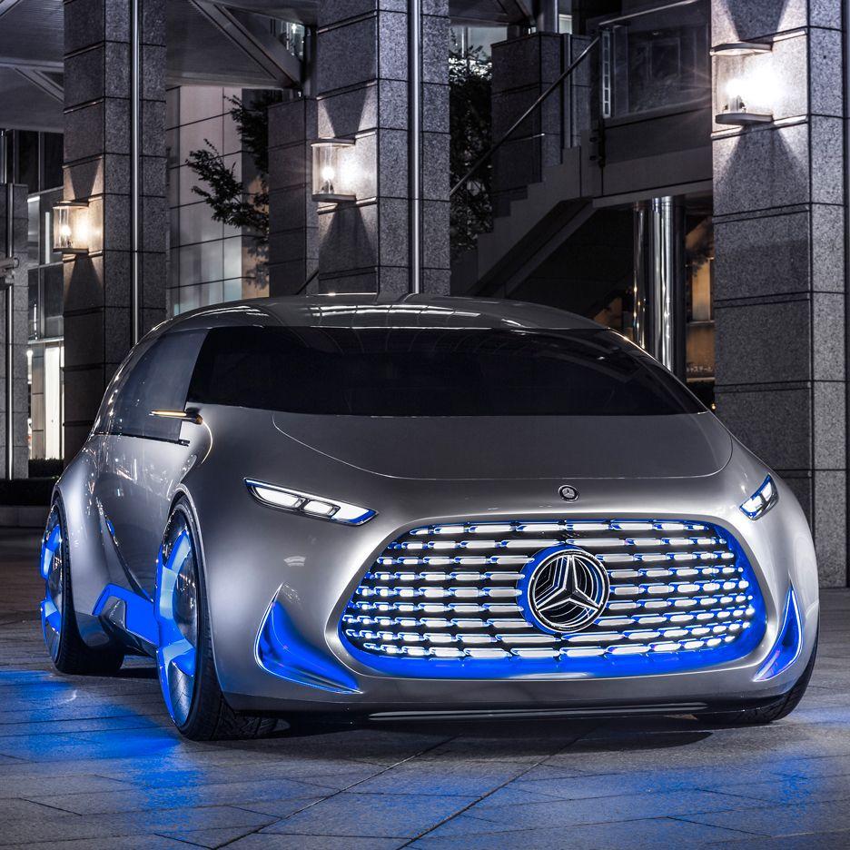Mercedes-Benz Unveils Autonomous Concept Car Designed For