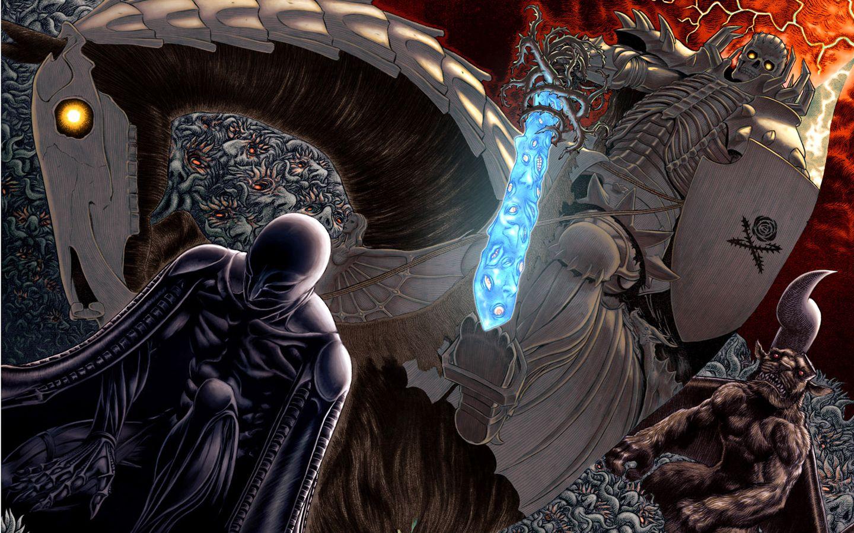 Skull Knight Femto And Zodd Berserk Behelit