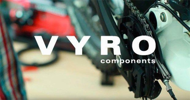 Vyro AmEn un curioso sistema que elimina el desviador delantero en las transmisiones de dos platos