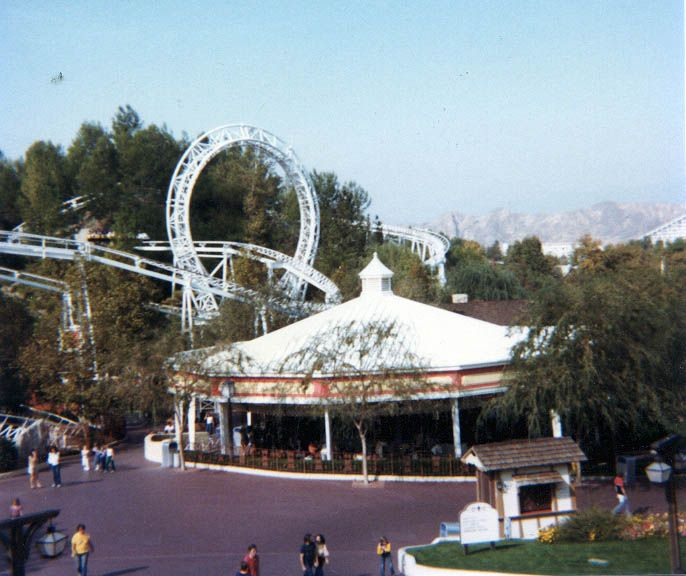 Magic Mountain Theme Park, 1970's (With Images)