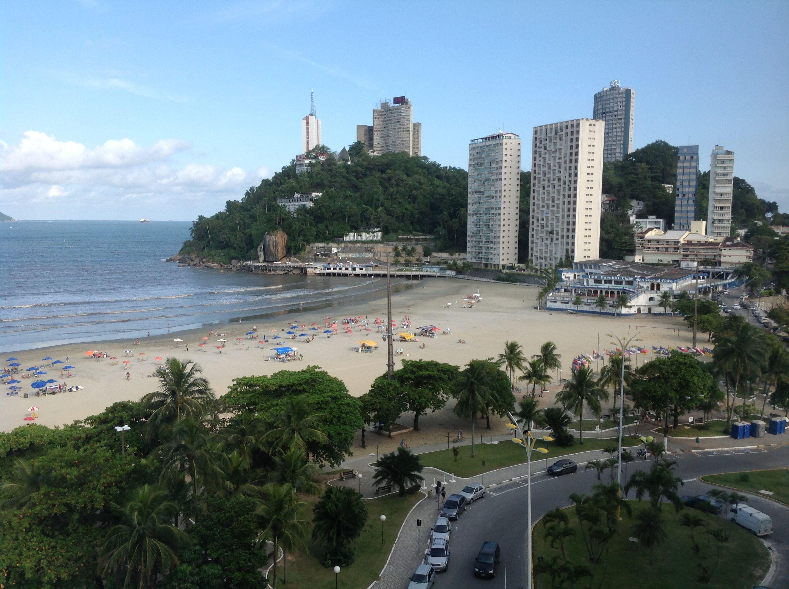 Praia de Itararé, São Vicente, SP