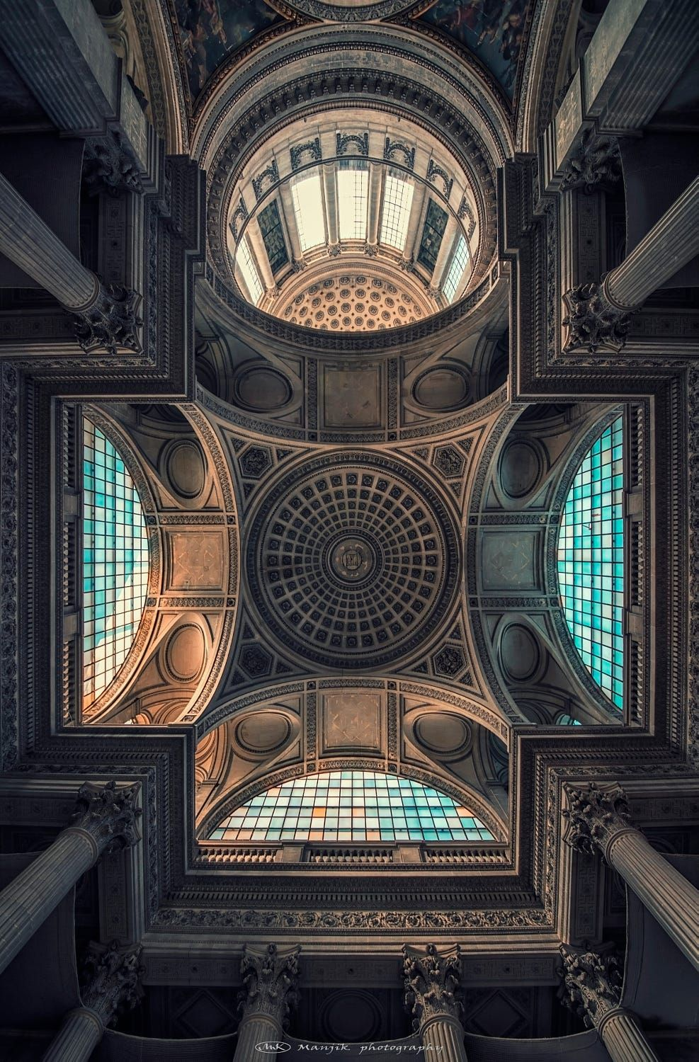 Pantheon ceiling by Manjik photography on 500px