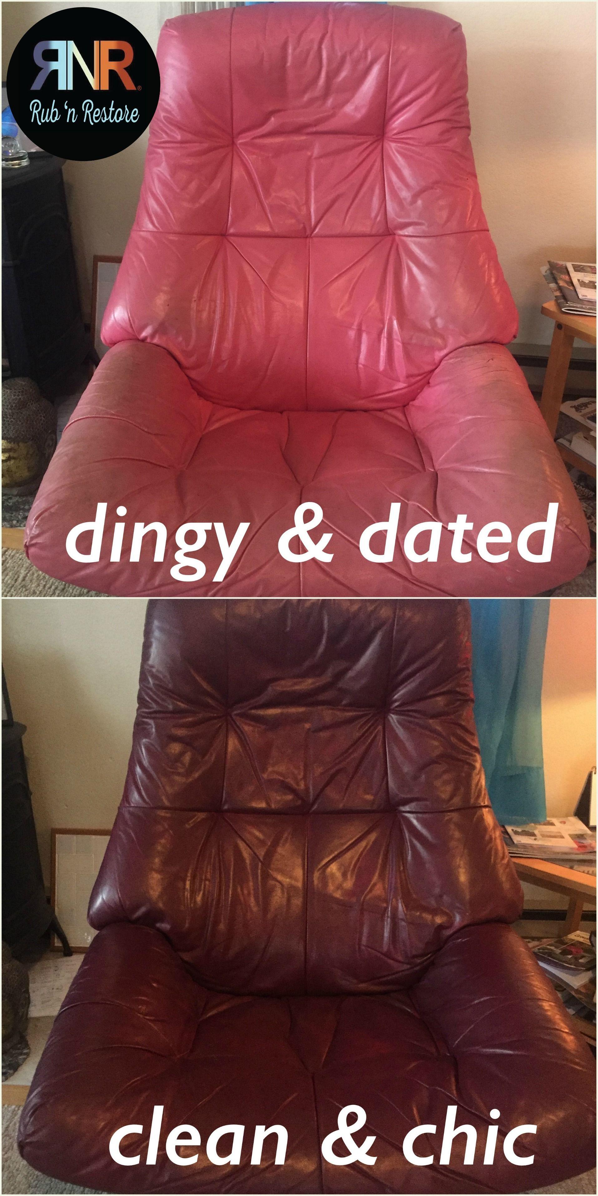Joyce s Euro chair s an update with Wine Rub n Restore