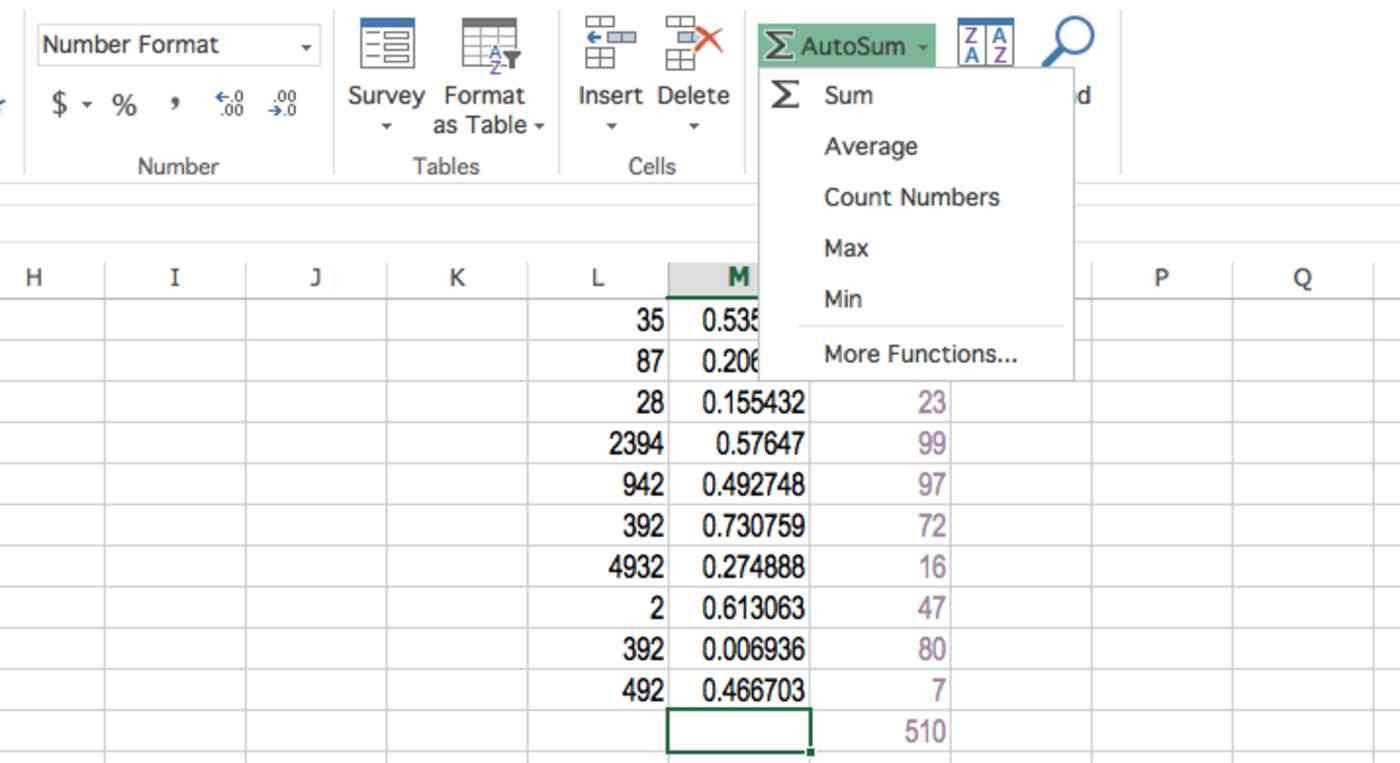 Excel Autosum In 2021 Excel Spreadsheet App Microsoft Excel How to autosum in excel spreadsheet