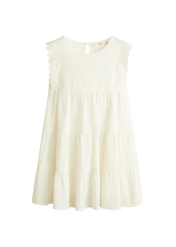 MANGO KIDS Kleid 'Korea' in weiß bei ABOUT YOU bestellen
