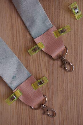 DIY Austauschbarer Taschengurt Anleitung und Schnittmuster