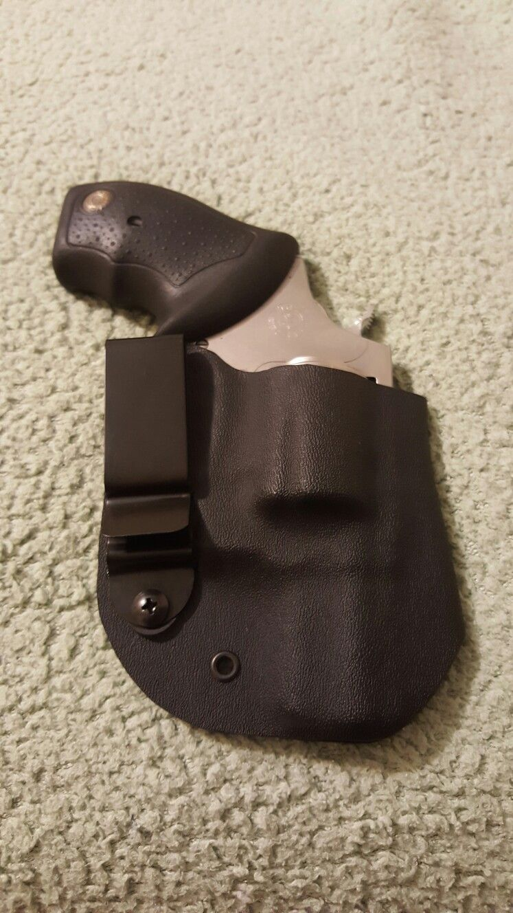 Kydex holster for a 357 Taurus revolver  …   Defense Weapons   Ruger
