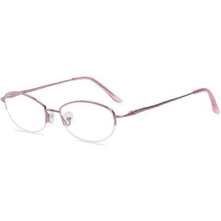 Visage Womens Prescription Glasses, Chenille Pink | prescription eye ...