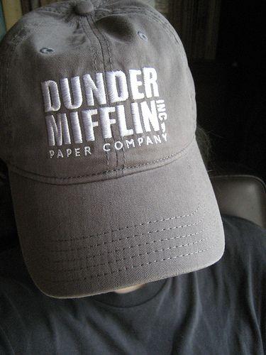DUNDER MIFFLIN baseball cap by No Biggy 08d958b43e8