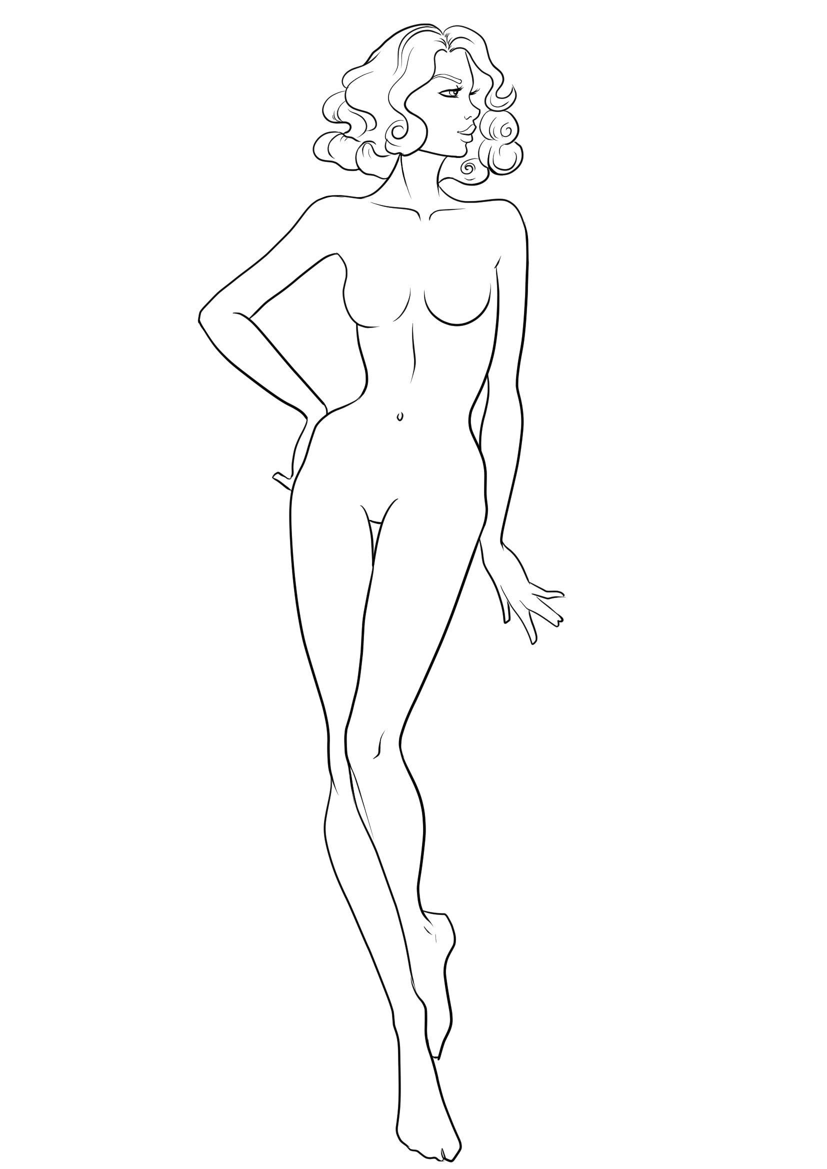 Resultado de imagen de fashion template   poses para figurin ...