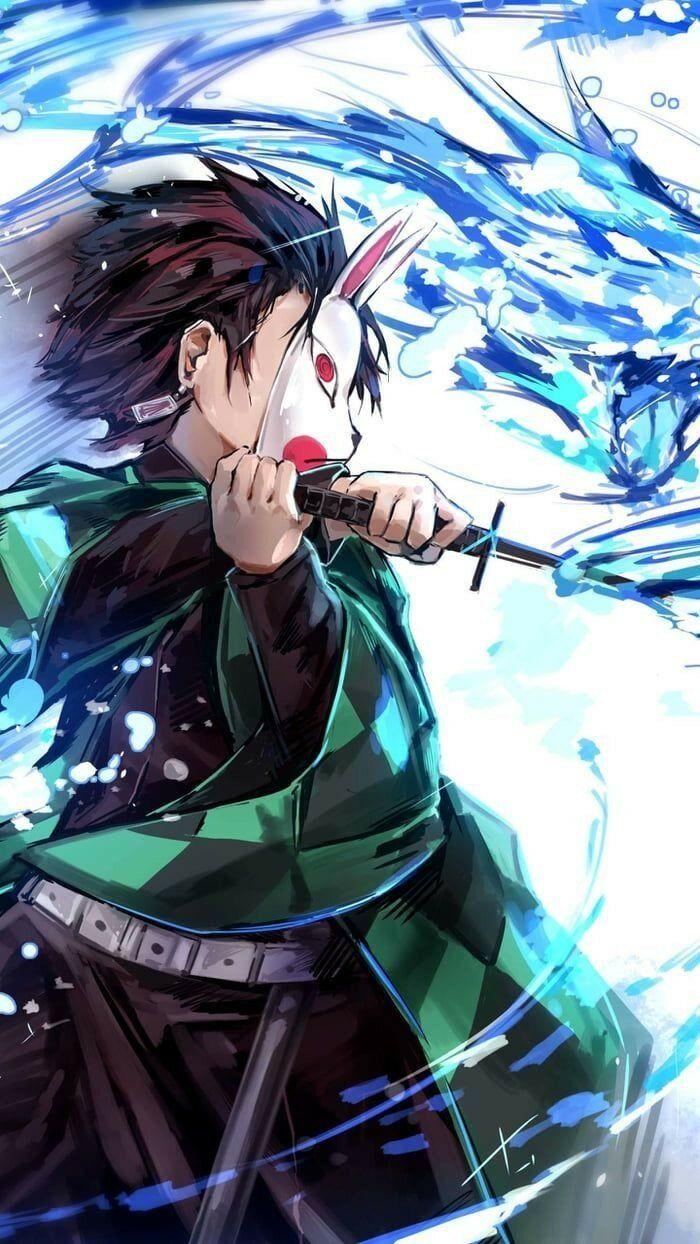 خلفيات أنيمي Anime تانجيرو Tanjiro ياباني 18 Slayer Anime Android Wallpaper Anime Anime Wallpaper Download