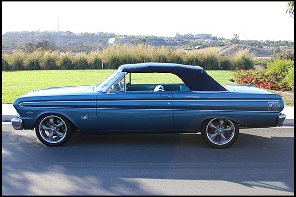 1964 Ford Falcon Futura Convertible 302 Ci Automatic For Sale By