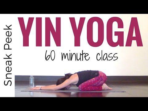 60 Minute Restorative Yoga Class -