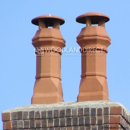 Large Edwardian Clay Chimney Pot Clay Clay Pots Pot