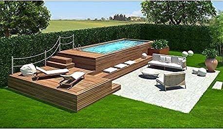 Coole Design Gestalten Hinterhof Ideen Kleine Landschaftlich Kleine Hinterhof Pool Ideen 50 C In 2020 Kleine Hinterhof Pools Hinterhof Pool Pool Ideen