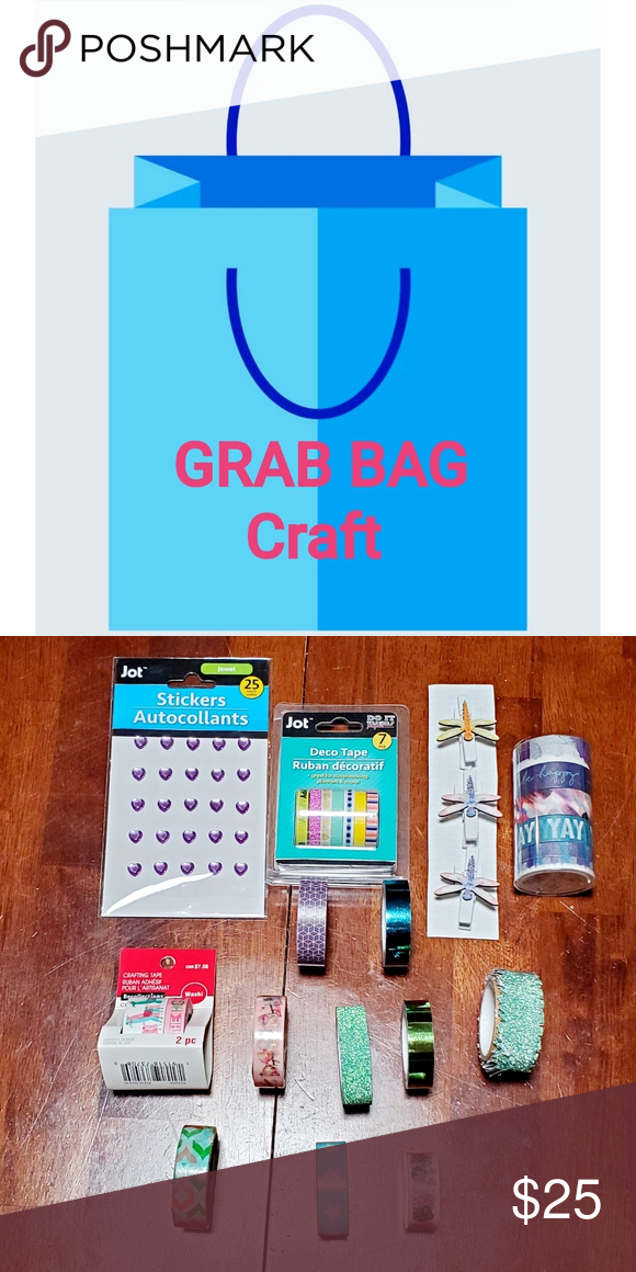 GRAB BAG 5 Grab bags, Bags, Party supplies