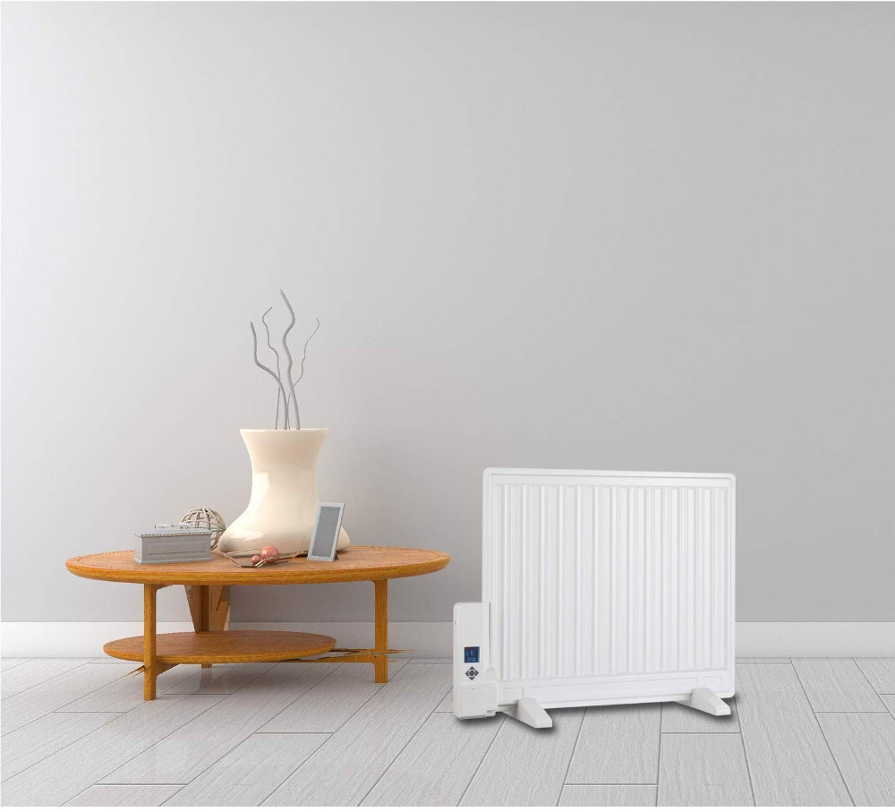 Ultraslim 800w Wall Mountable Oil Filled Radiator With Thermostat And Weekly Timer Amazon Co Uk K In 2020 Oil Filled Radiator Energy Efficient Design Panel Radiators