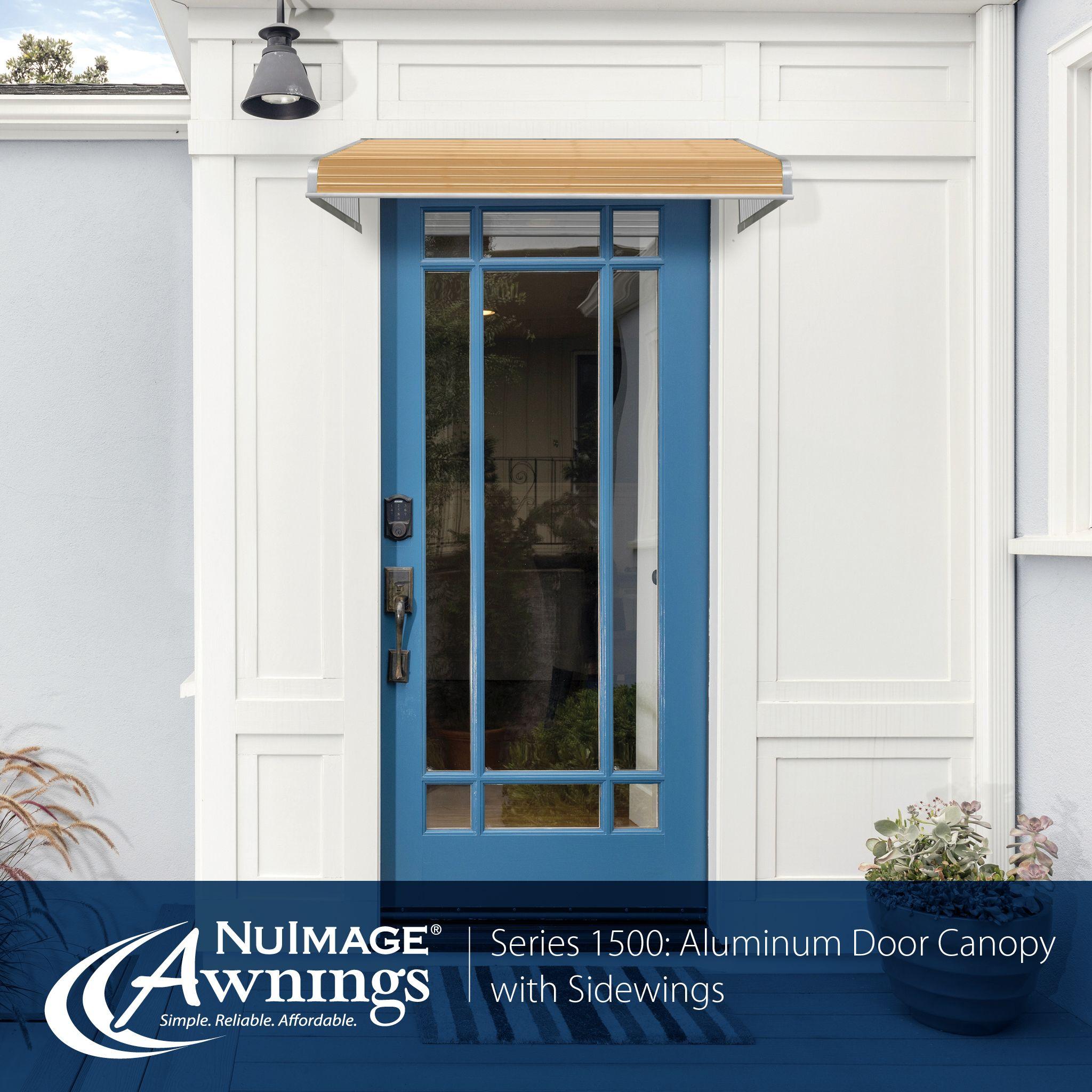 Nuimage Awnings Series 1500 Aluminum Door Canopy Aluminum Awnings Awning Canopy Aluminium Doors