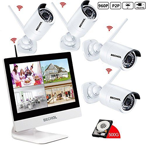 Bechol 960hd Wireless Security Surveillance Ip Camera Sys