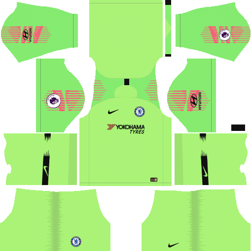Goalkeeper Dream League Soccer Kits Chelsea FC Away 2018-19 URL