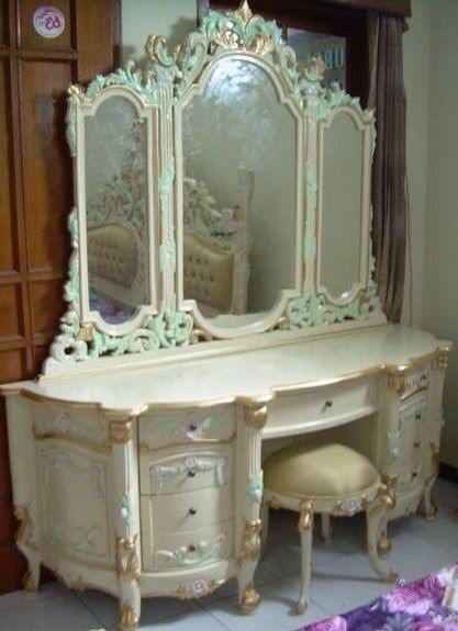 Vanity chabby chic Pinterest Vanities, Shabby and Dressing tables