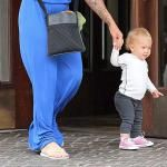Willow Hart Takes First Steps... Out On The Town