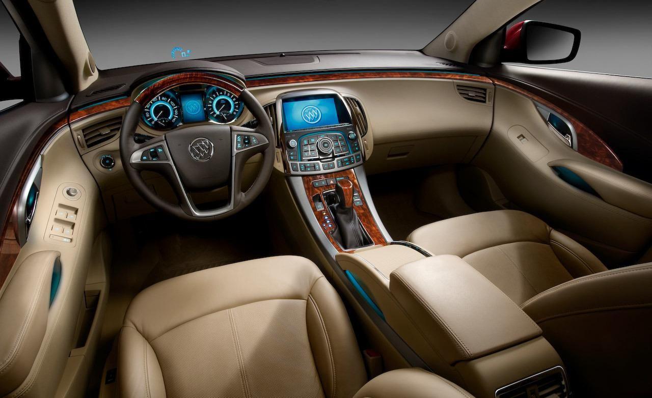 2010 Buick Lacrosse Interior