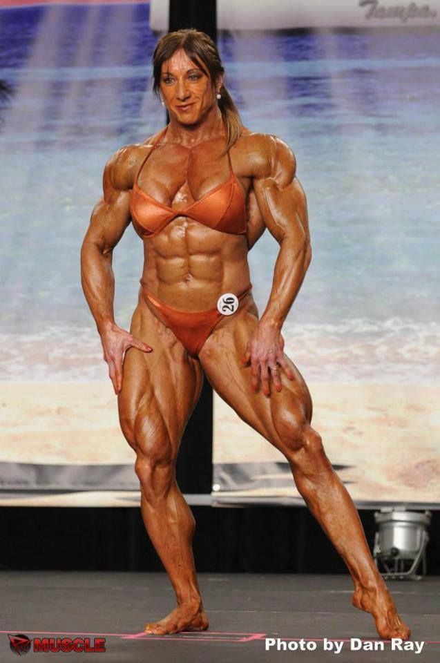 "femalemusclepicts: "" Big ripped muscles "" 