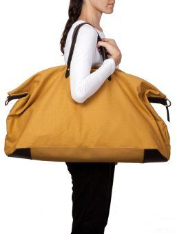 Weekend Bag Mustard Cuyana