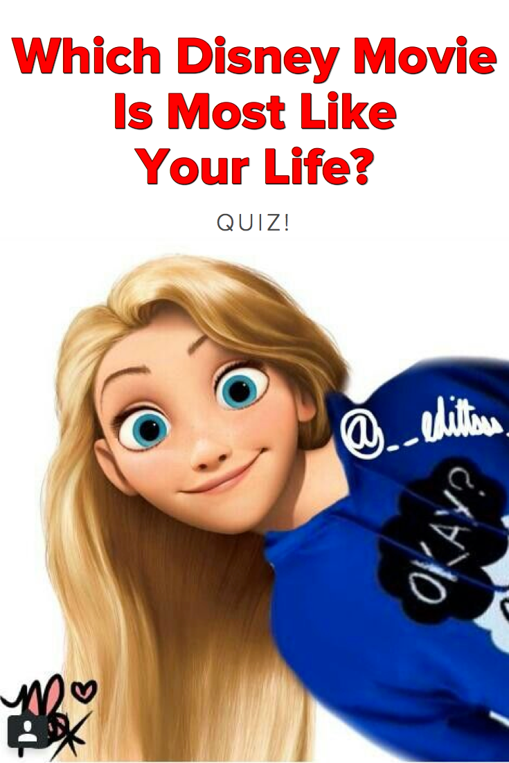 Anime Characters Quotev : Quiz which disney movie is most like your life