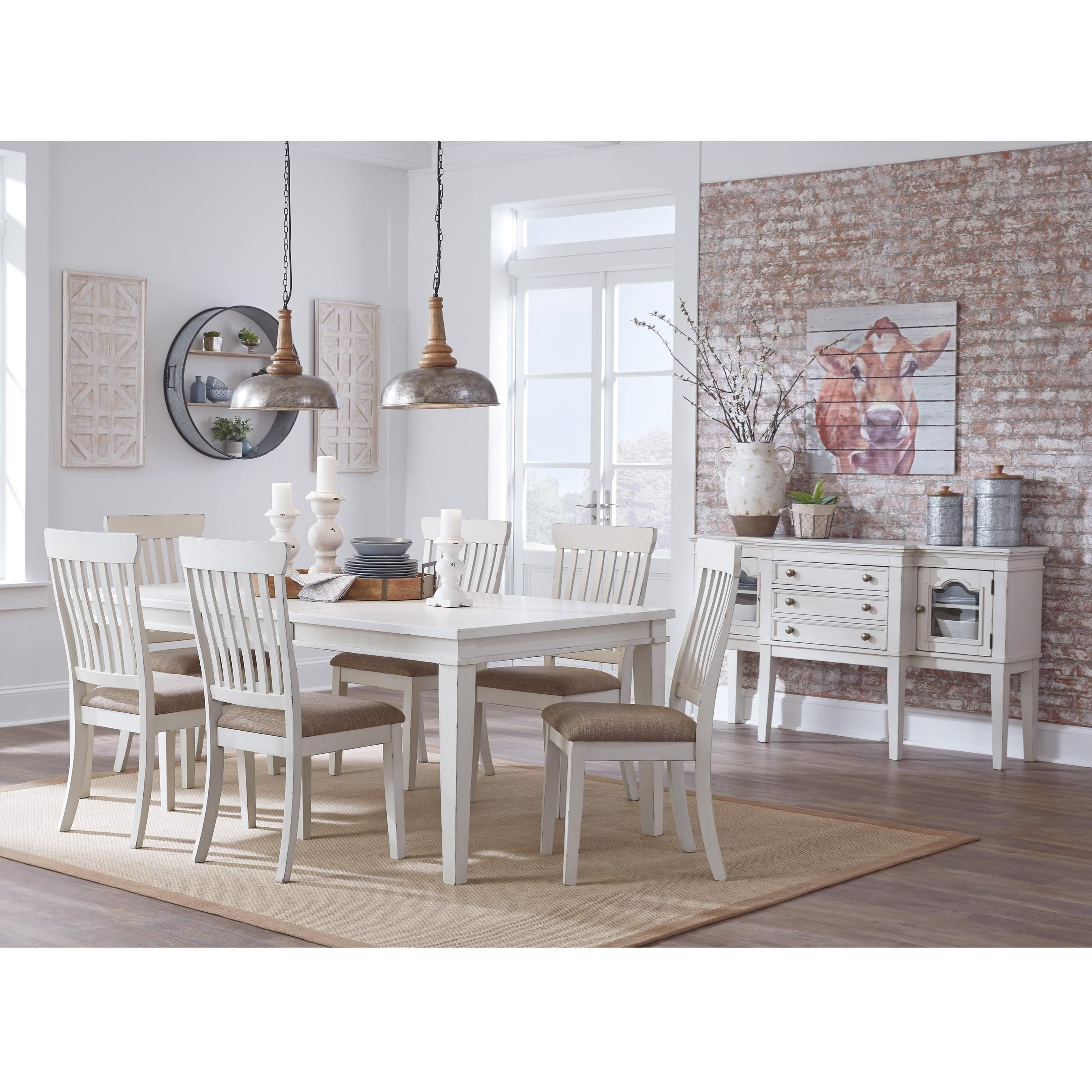 Danbeck Formal Dining Room Group By Signature Design By