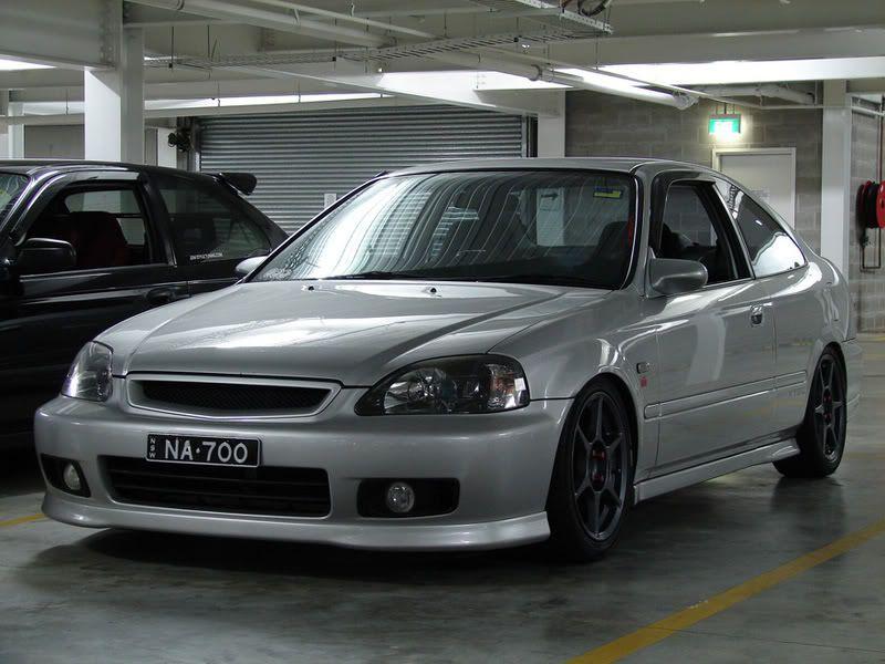 Civic Coupe With Spoon Mirror Civic Coupe Honda Civic Vtec Honda Civic Sedan