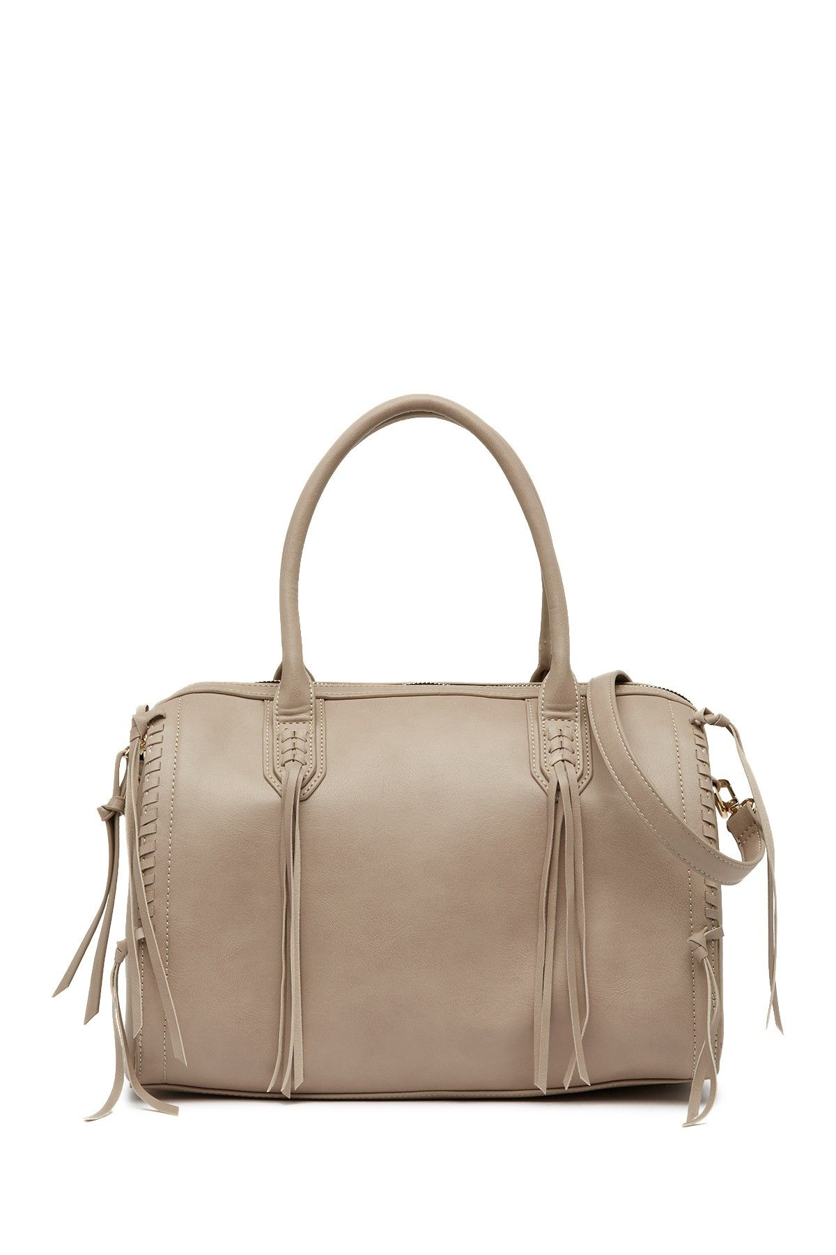 8a2614e429 Image of Urban Expressions Baxter Whipstitched Vegan Leather Satchel