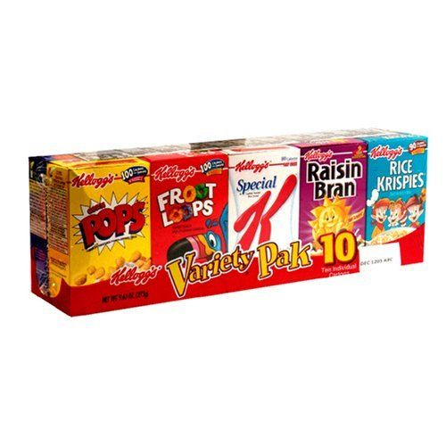 Remember Variety Packs Of Cold Cereal?