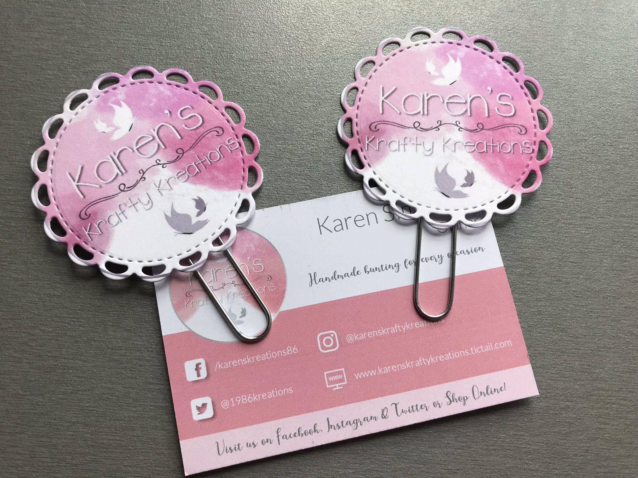 Custom Logo Planner Clips, Planner Clips, paper clips, bookmark ...