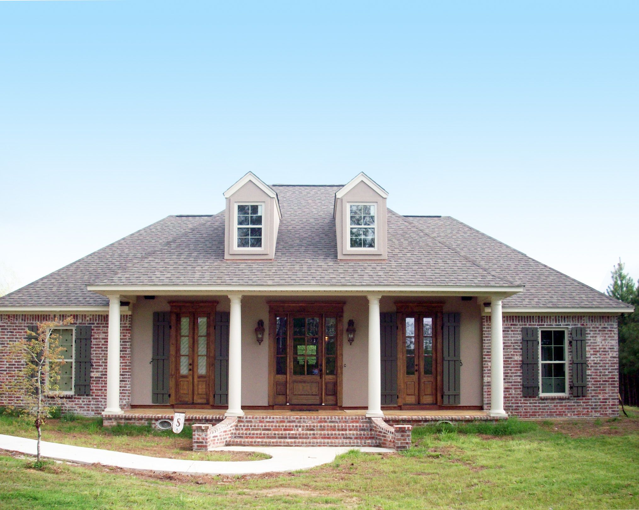 3 Bed Acadian With Options Country Style House Plans