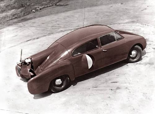 The Aerocar, Designed by Eugenio Grosovich and built by Gianfranco Bricci. Argentina, 1955.