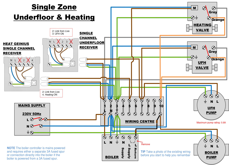 Honeywell 6 Wire Thermostat Wiring Diagram