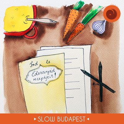 Rajzoljuk a slow forradalmat! | Slow Budapest © Bíró Eszter https://www.mindekoz.tumblr.com/