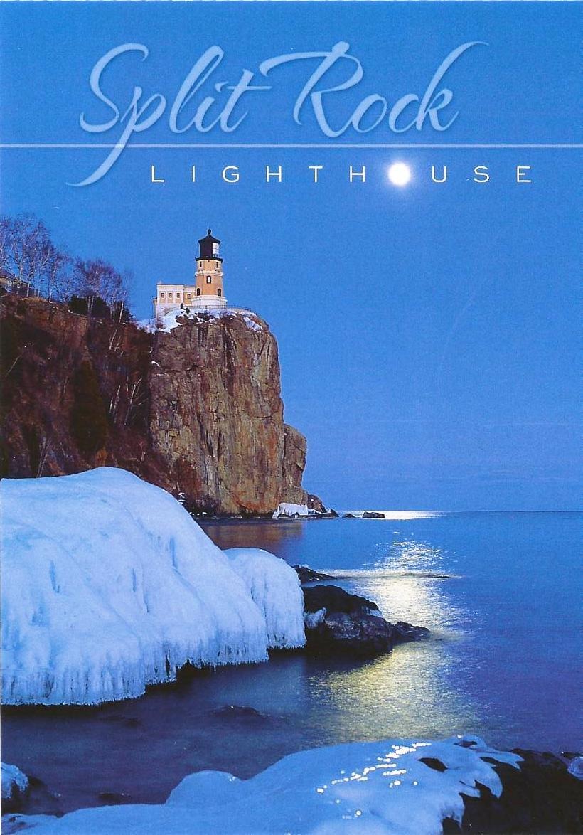 Split Rock Lighthouse On Lake Superior Near Two Harbors, Minnesota In Winter