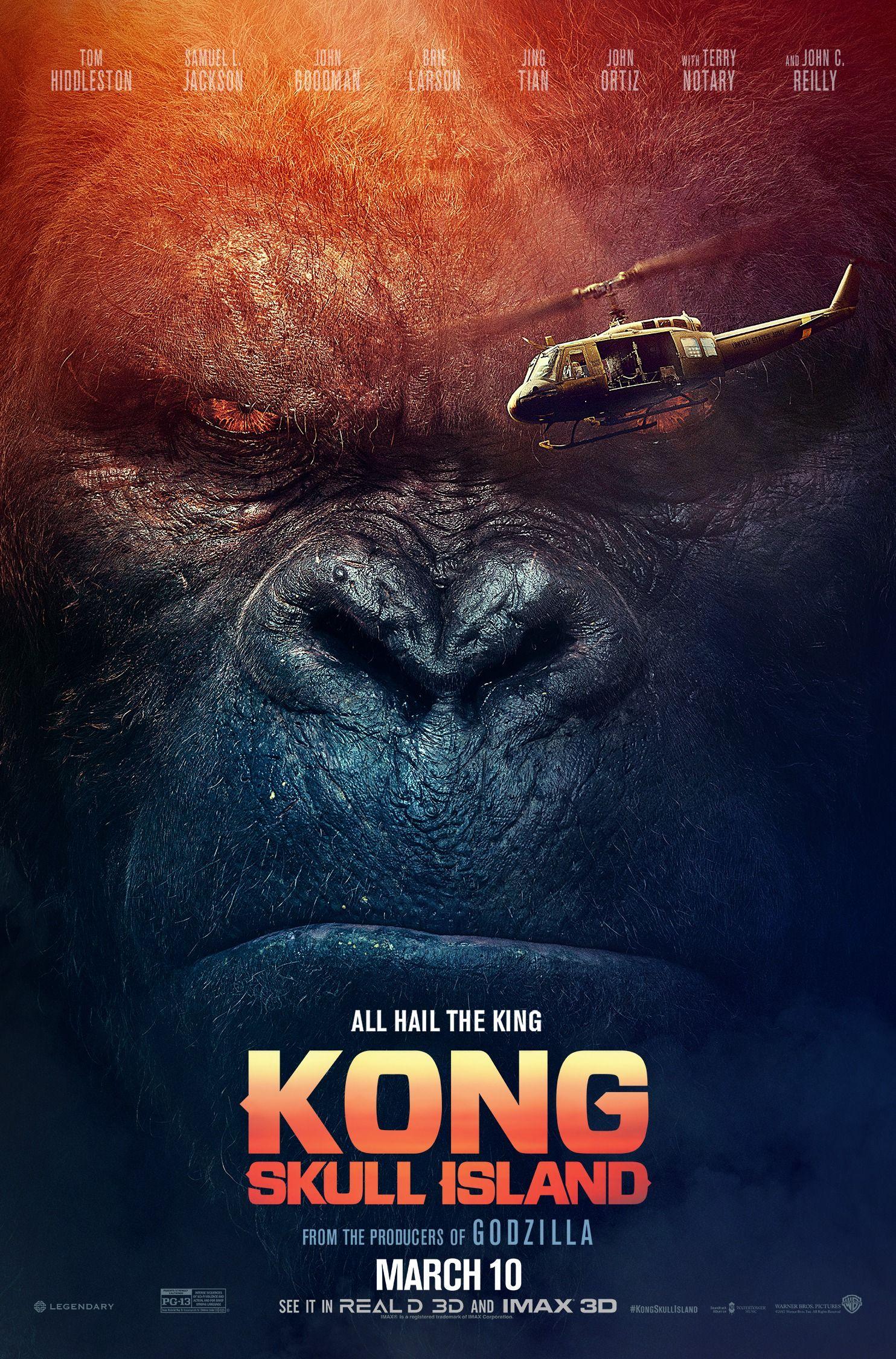 Poster Film Kong Skull Island.