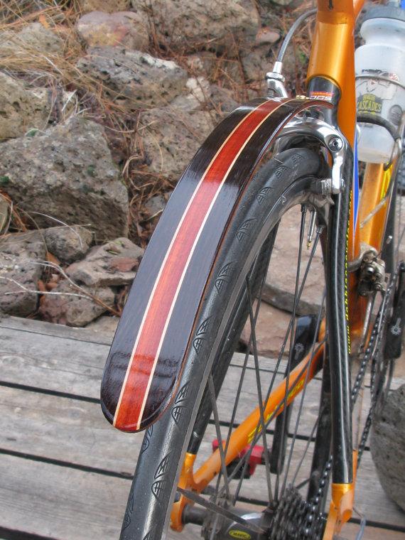Meine Kurzen Hinteren Kotflugel Sind Genau Das Eine Kurze Schutzblech Montieren Auf Der Ruckbank Aufenthalt Klammer Bo Bike Fender Wood Bike Bicycle Fenders