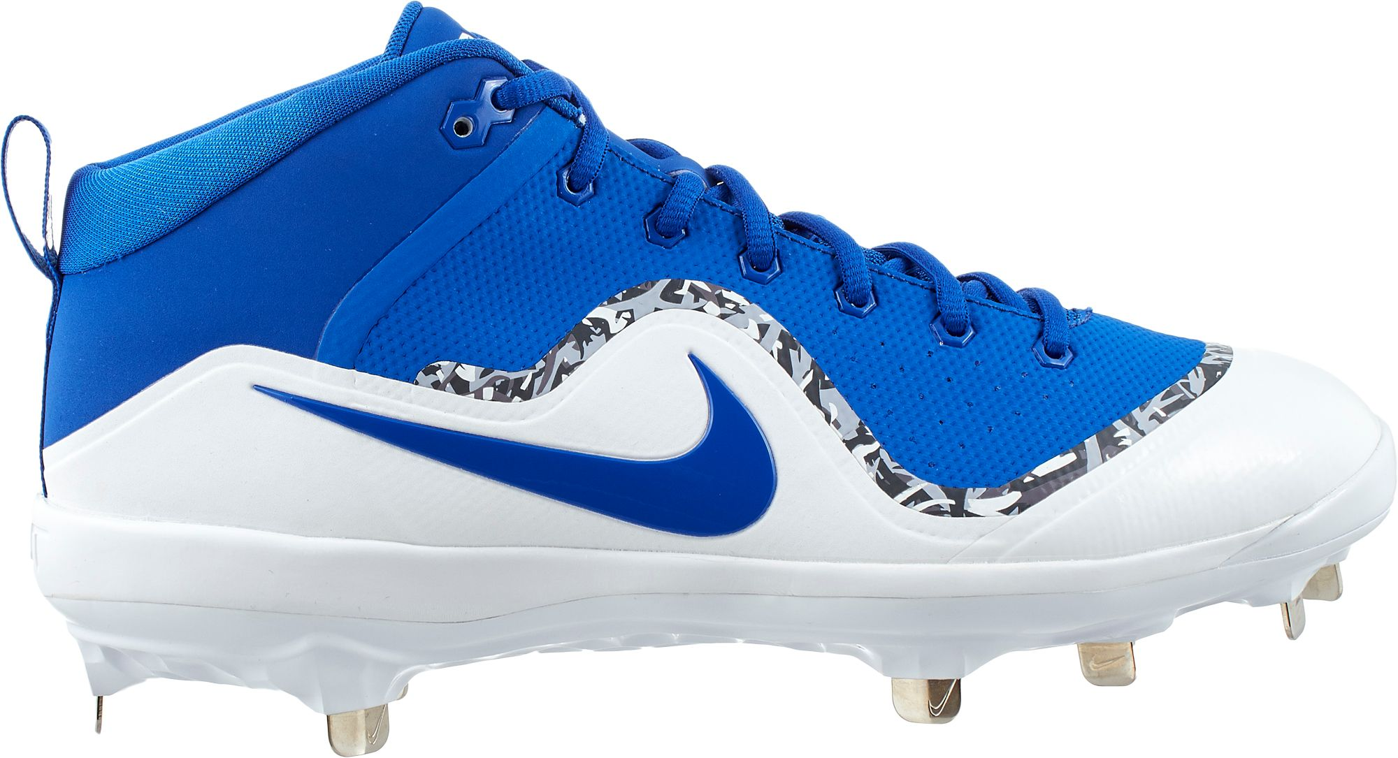 newest 2476f 1ac3b Nike Mens Force Air Trout 4 Pro Metal Baseball Cleats, Size 12.0, Blue