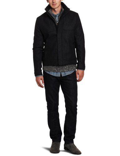 Calvin Klein Sportswear Men's Patterned Bomber Jacket
