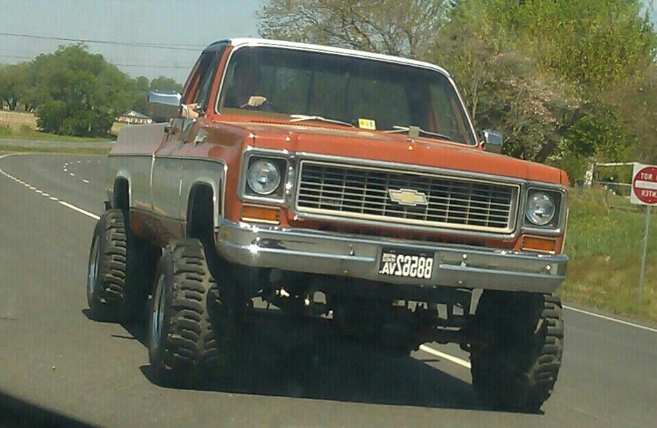 1974 Chevy k20 mmmm my daddy\'s old truck <3 | Crazy About Tires ...