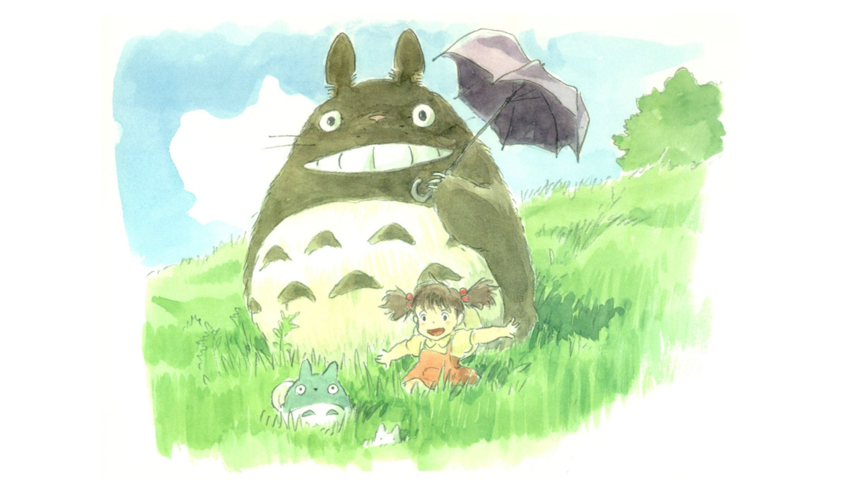 my neighbor totoro cartoon hd wallpapers free download