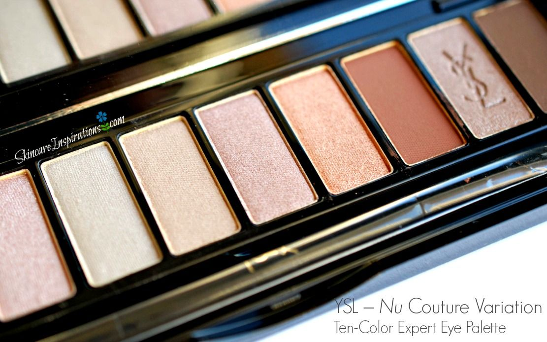 Ysl nude eyeshadow palette couture variation 10 color eye ysl nude eyeshadow palette couture variation 10 color eye palette 1 swatches ccuart Gallery