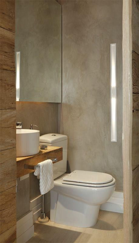 Lavabos Modernos Powder Room Toilet And Bath