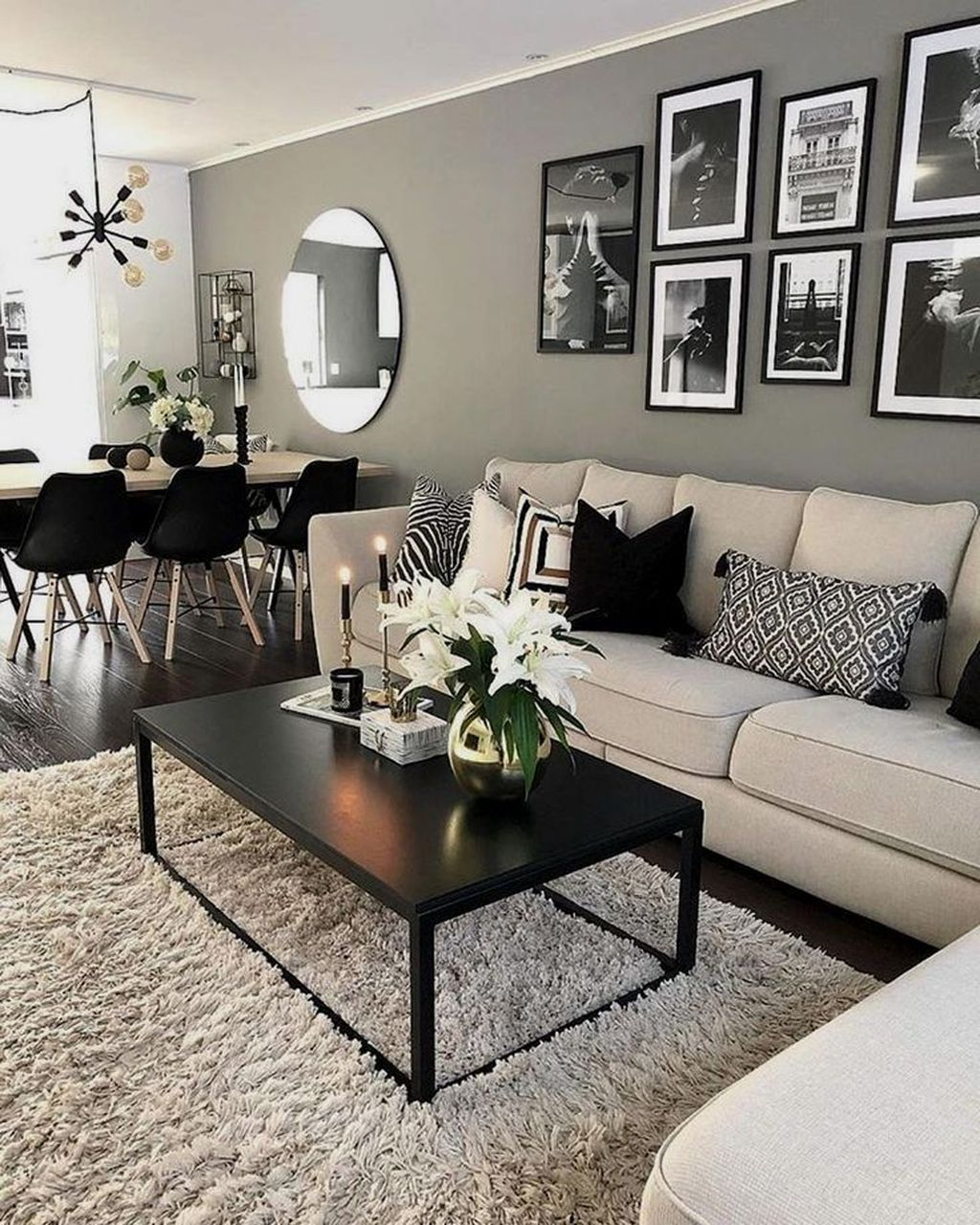 Home Design Ideas Classy: 33 Perfect Black And White Color Ideas For Your Living